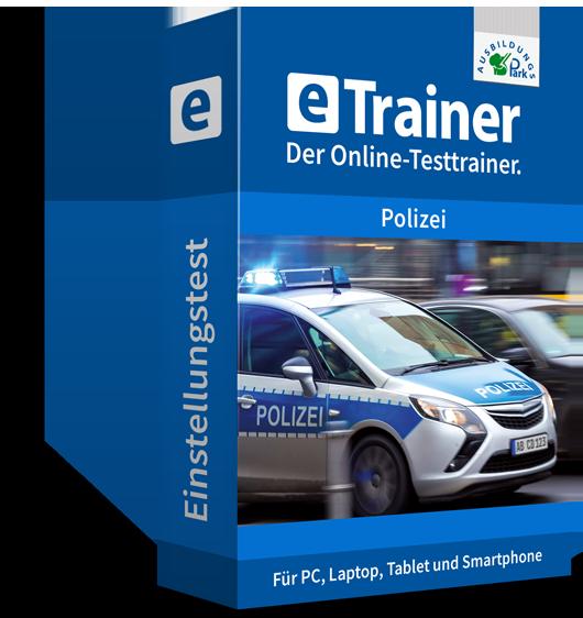 eTrainer Polizei: Dein Online-Testtrainer für den Polizeitest Hessen